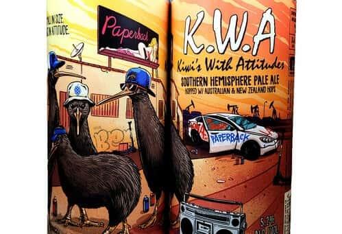 Kiwi's with Attitude 'Southern Hemisphere Pale Ale'
