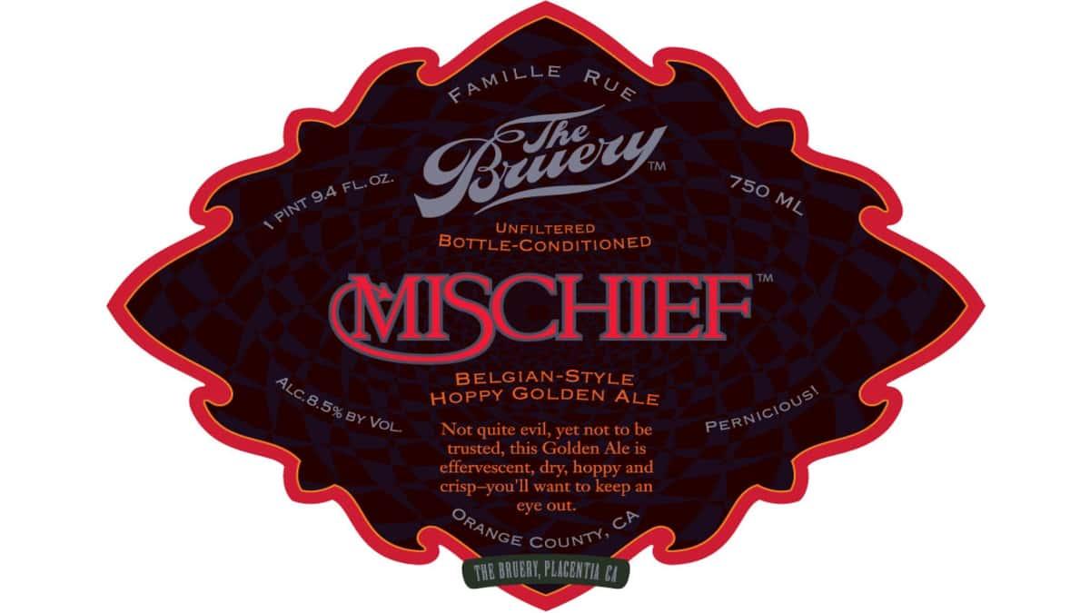 The Bruery, 'Mischief' Belgian Golden Ale