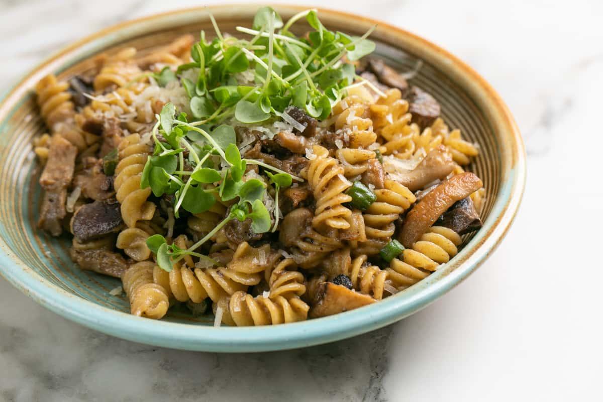 Truffled Mushroom Rotini (Vegetarian)