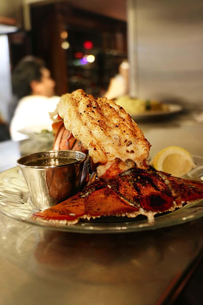 16 oz Lobster Tail Dinner