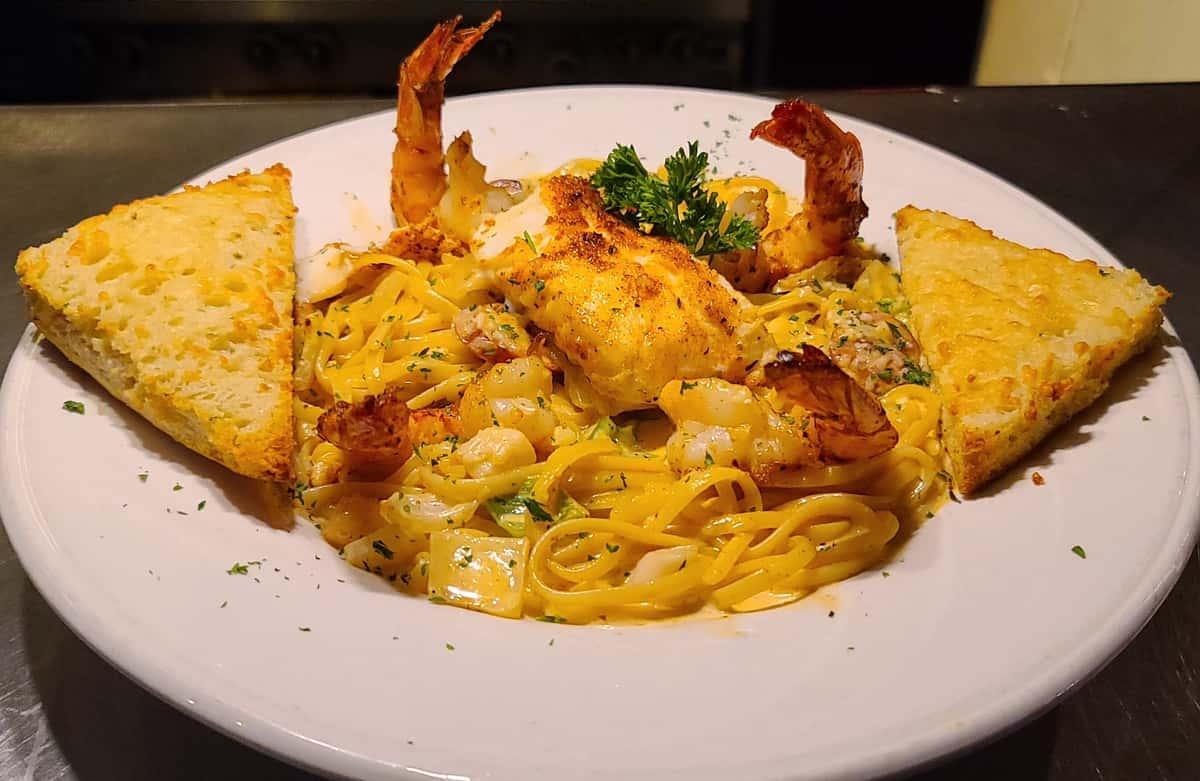 Cajun Seafood Linguine