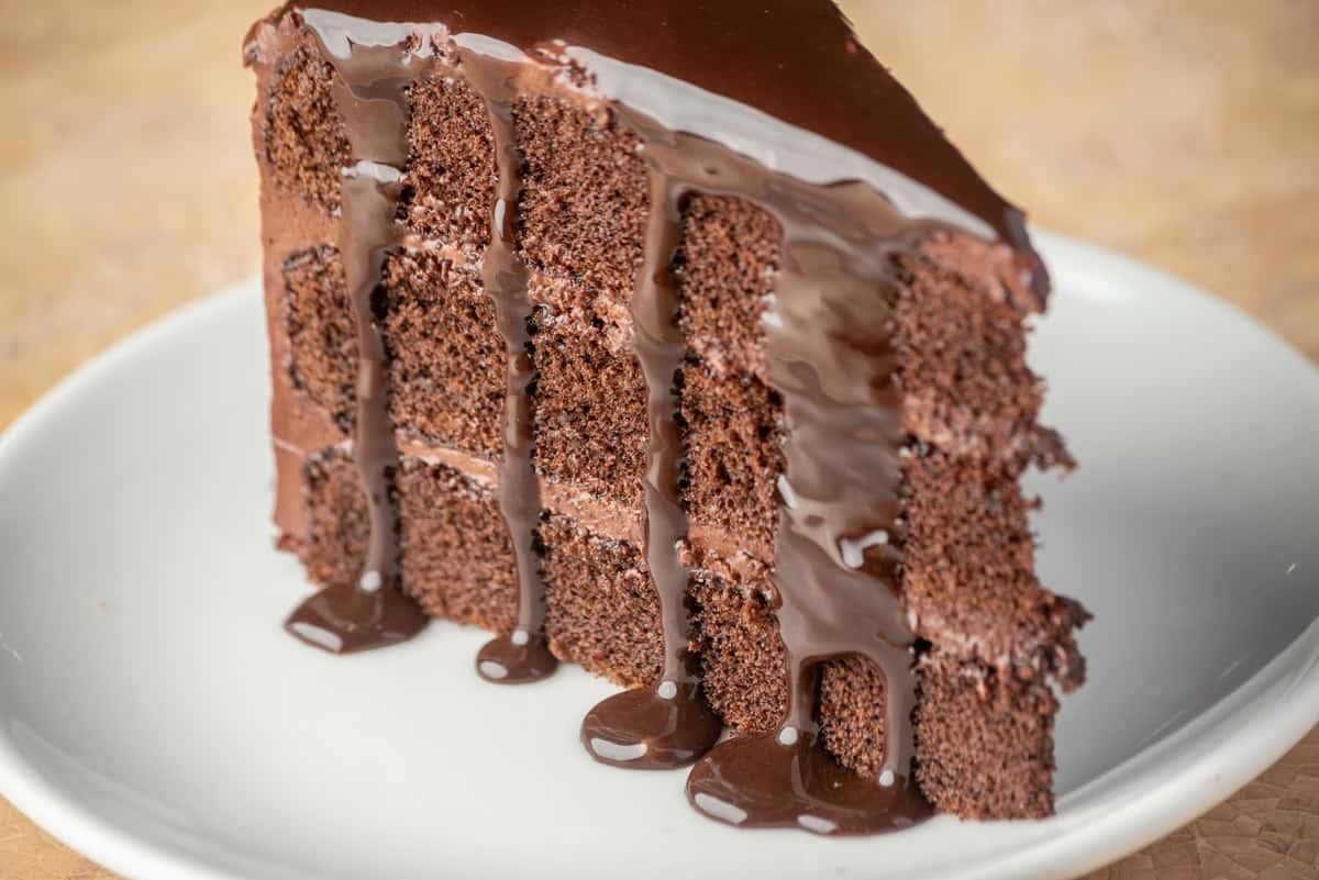 Chocolate Wave Cake