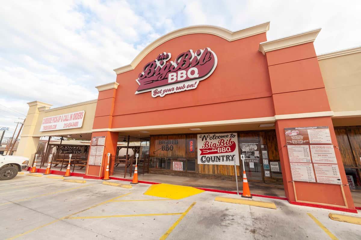 Exterior of The Big Bib BBQ