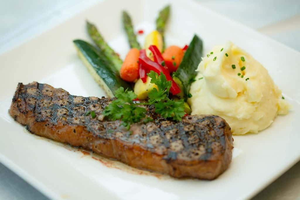*USDA Choice 10oz. New York Strip Steak