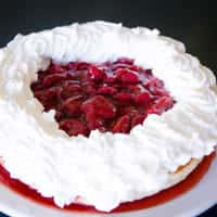 Cakes with Fruit Topping