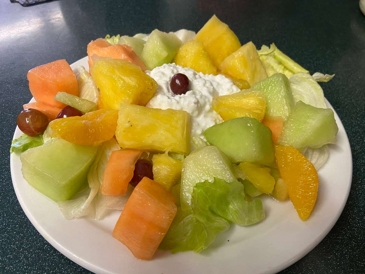 Fruit and Cottage Cheese