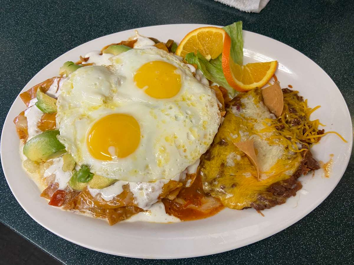 Chilaquiles Plate