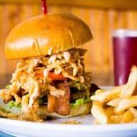Flamethrower Burger