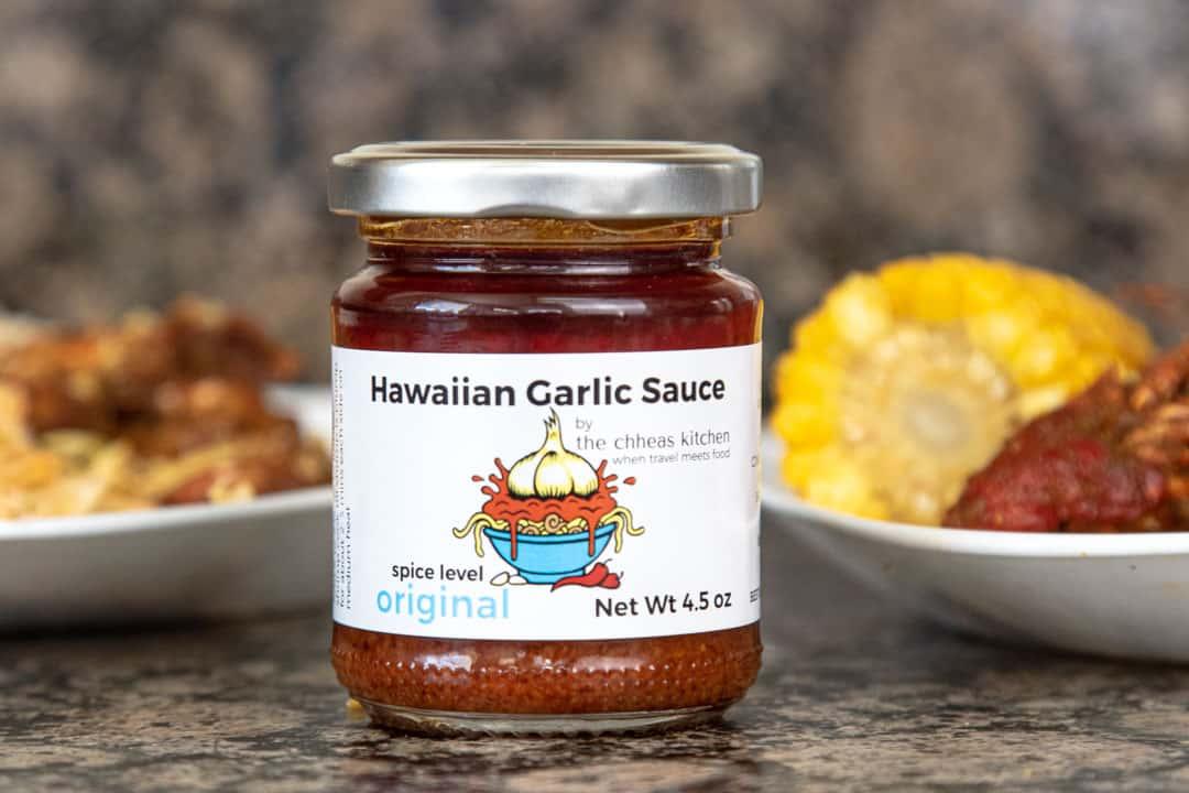Hawaiian Garlic Sauce