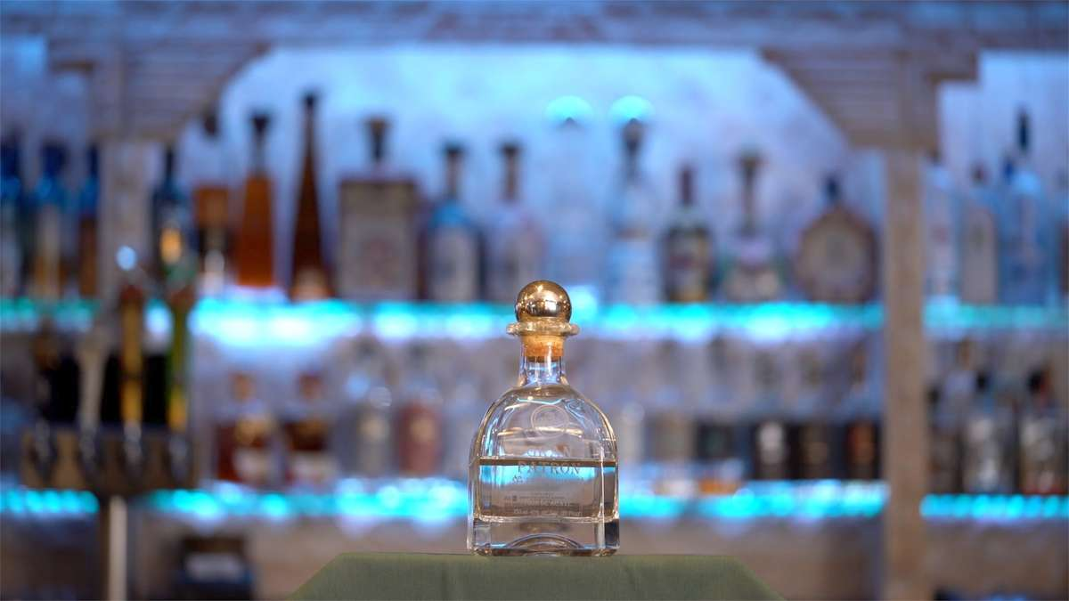Grand Patron Platinum Tequila