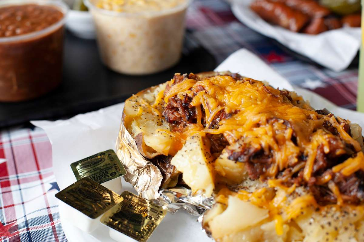Huge Baked Potato
