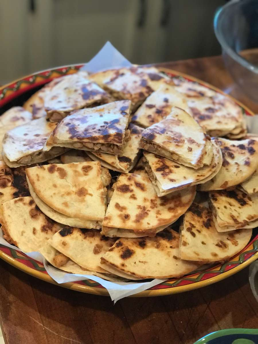 Quesadillas catered