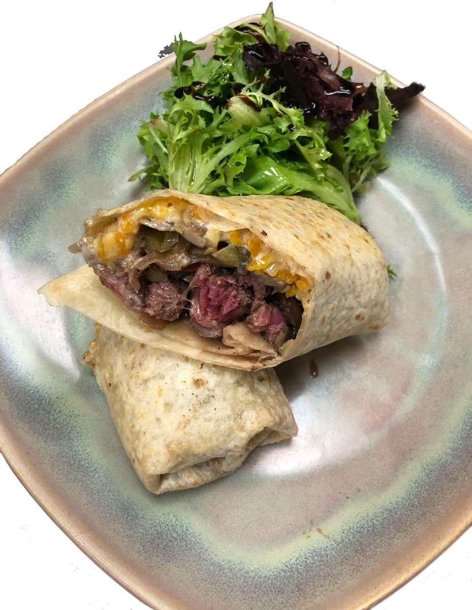 Steak & Cheese Wrap