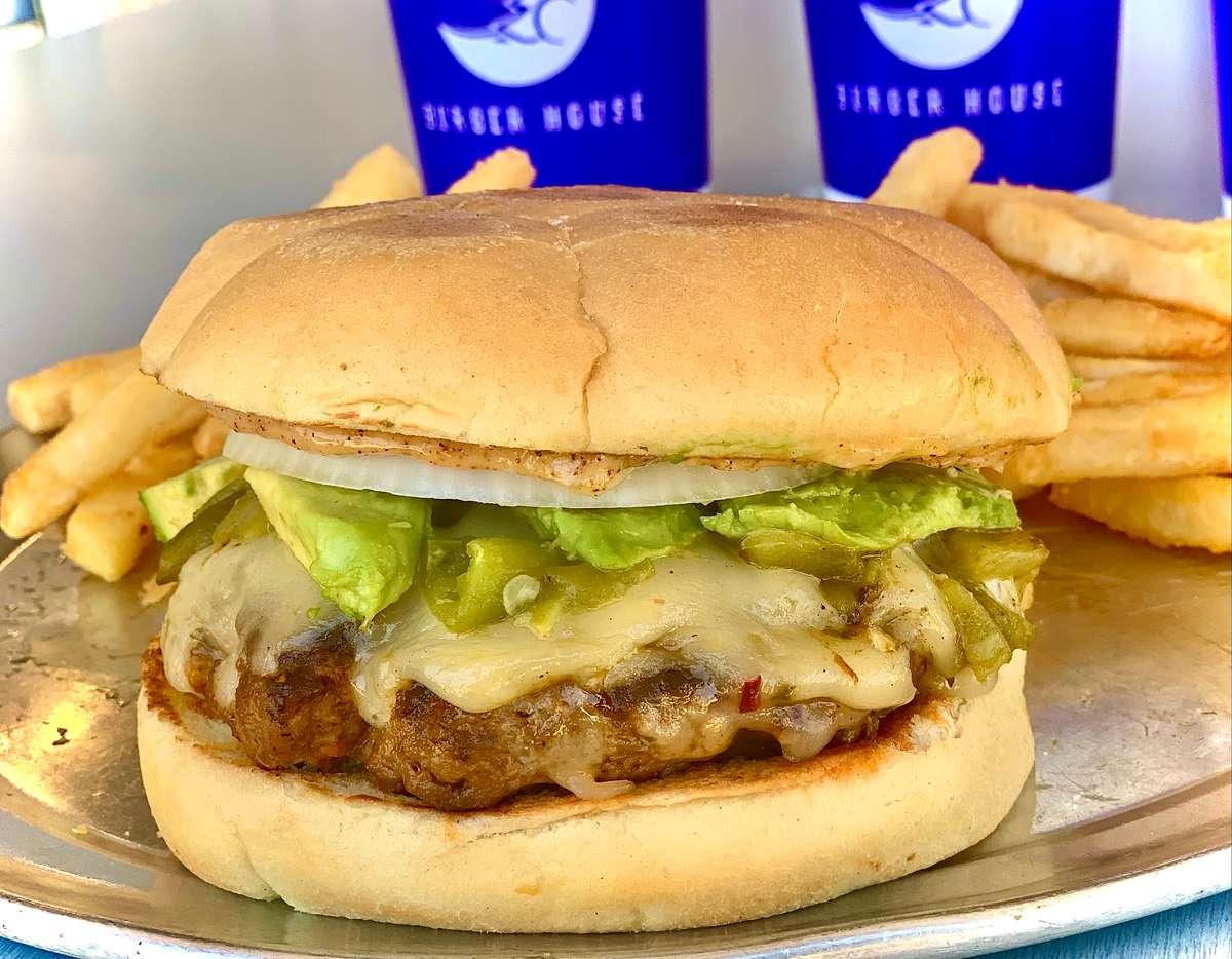 May Burger of the Month - Chuck 'n Chorizo