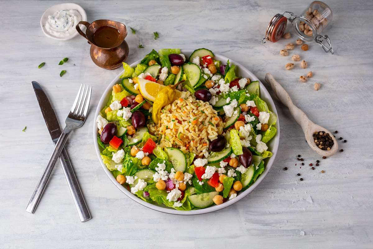 The Great Greek Rice Bowl