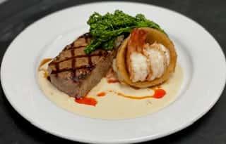 Steak and Shrimp*