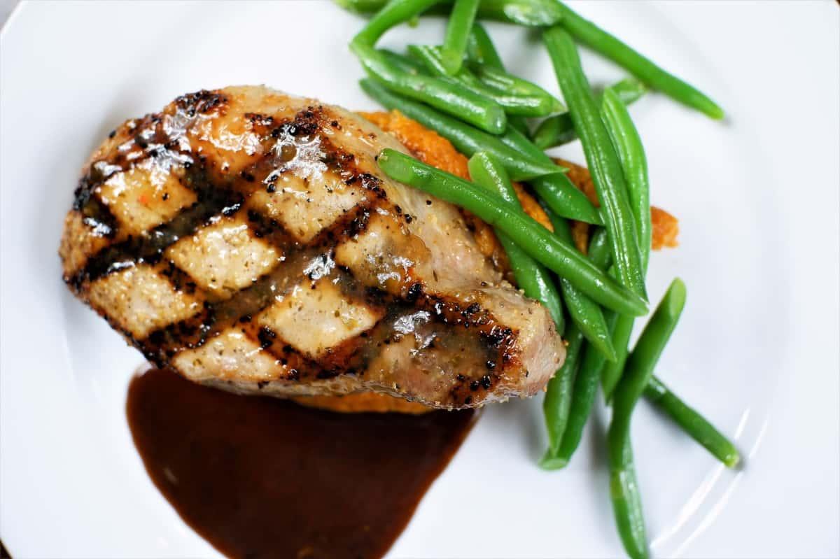Grilled Center Pork Chop*