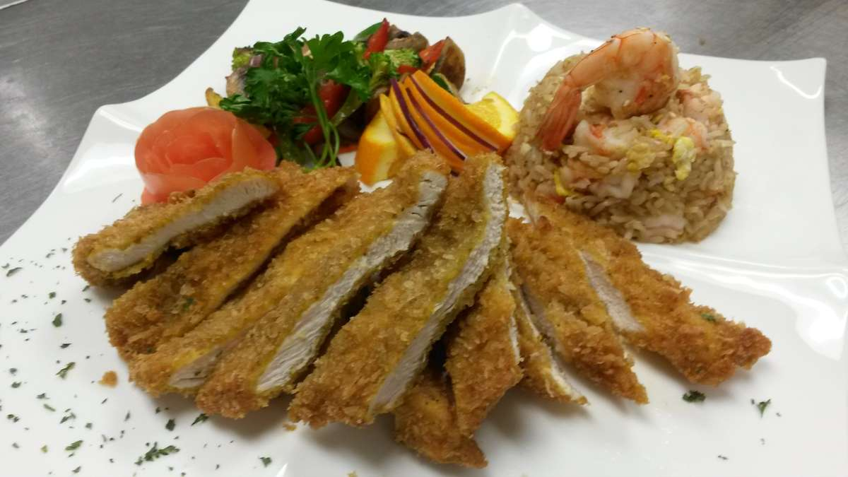Breaded Curry Chicken Cutlet