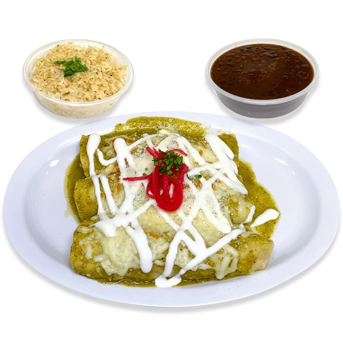 41. Roasted & Grilled Veggies Enchiladas