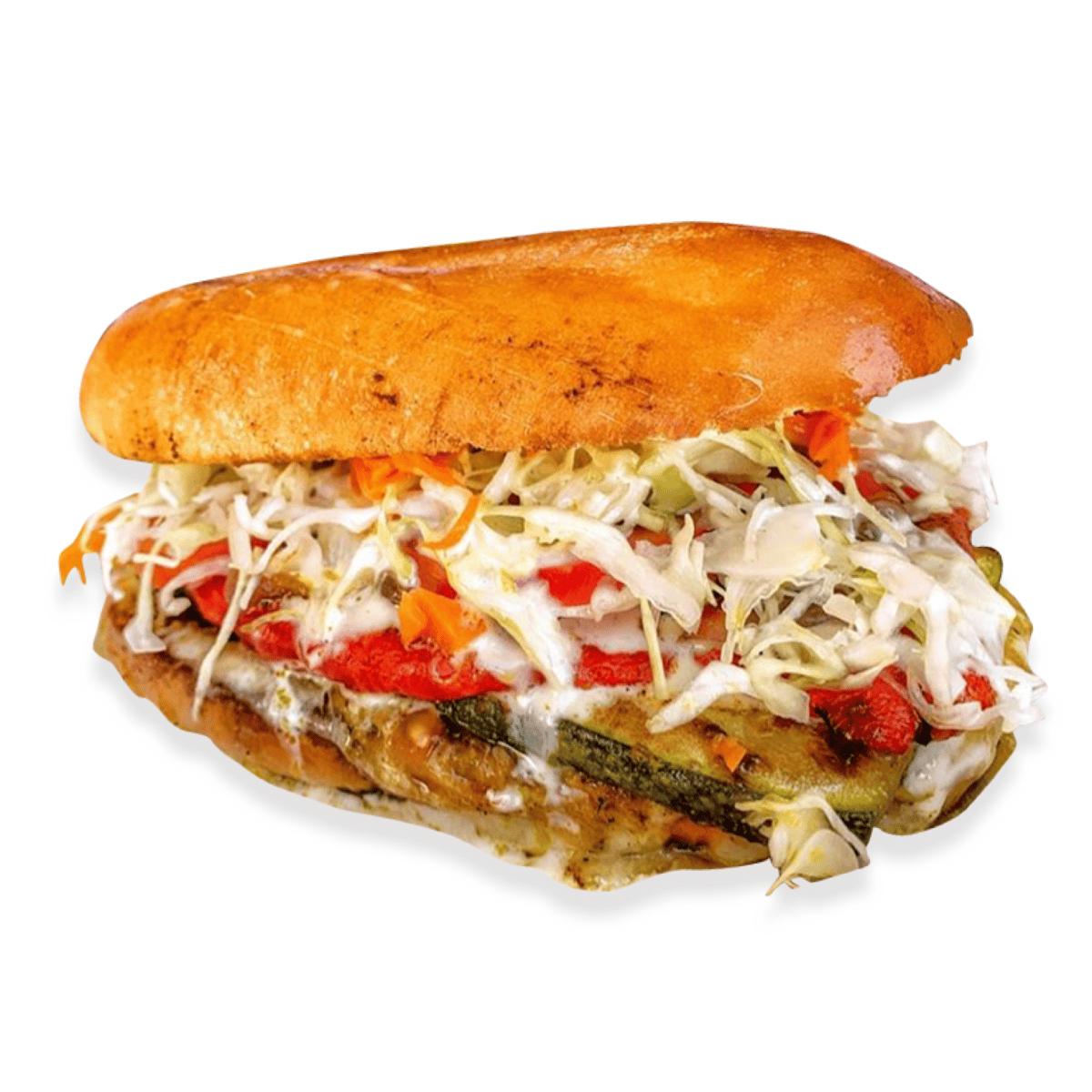 16A. Vegan Roasted & Grilled Veggies (Big Torta Only)