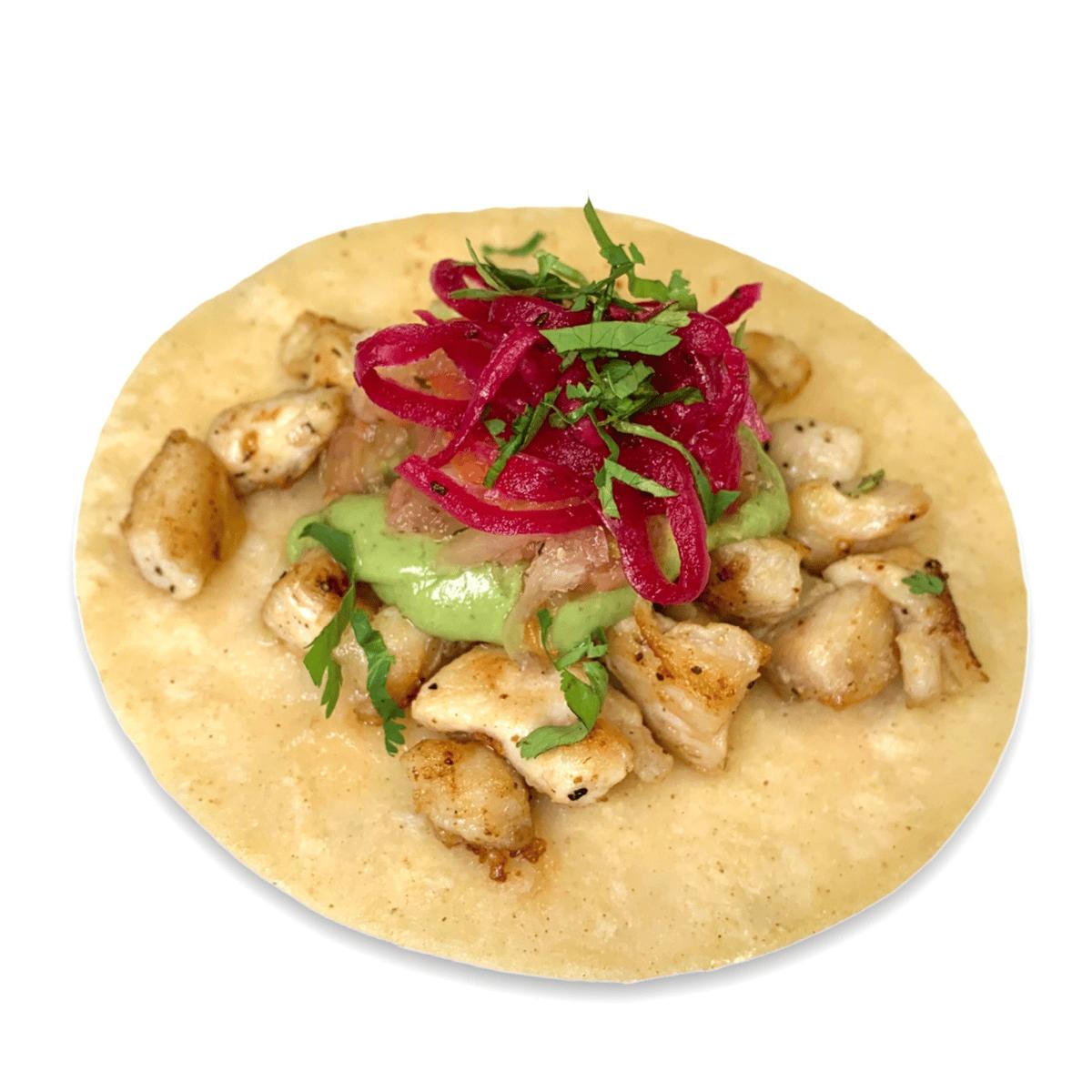24. Grilled Chicken Taco