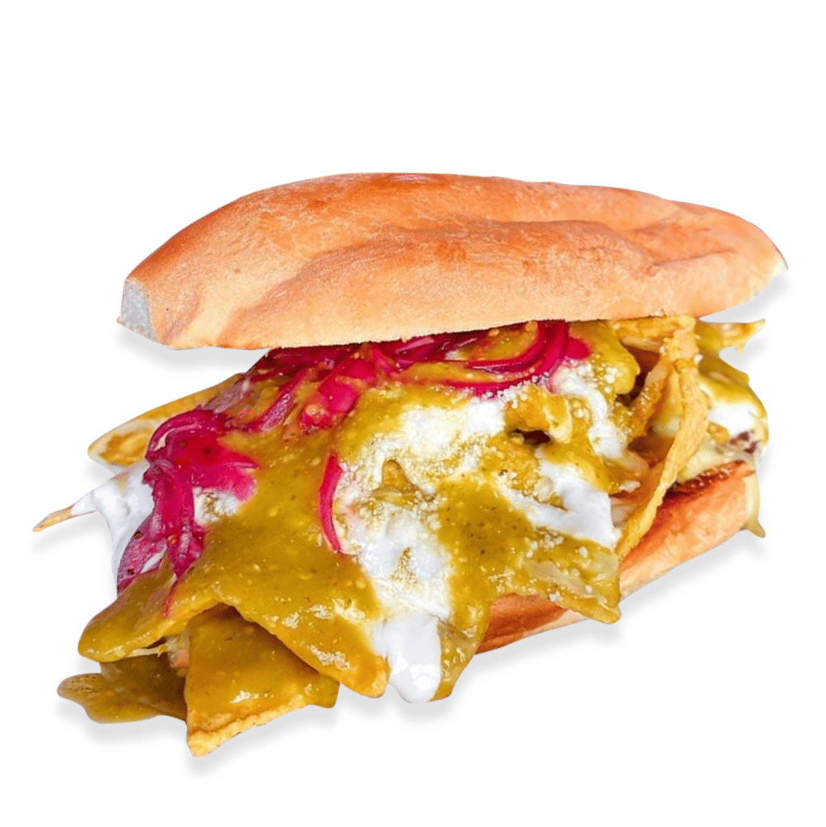 17. Chilaquiles (Big Torta Only)