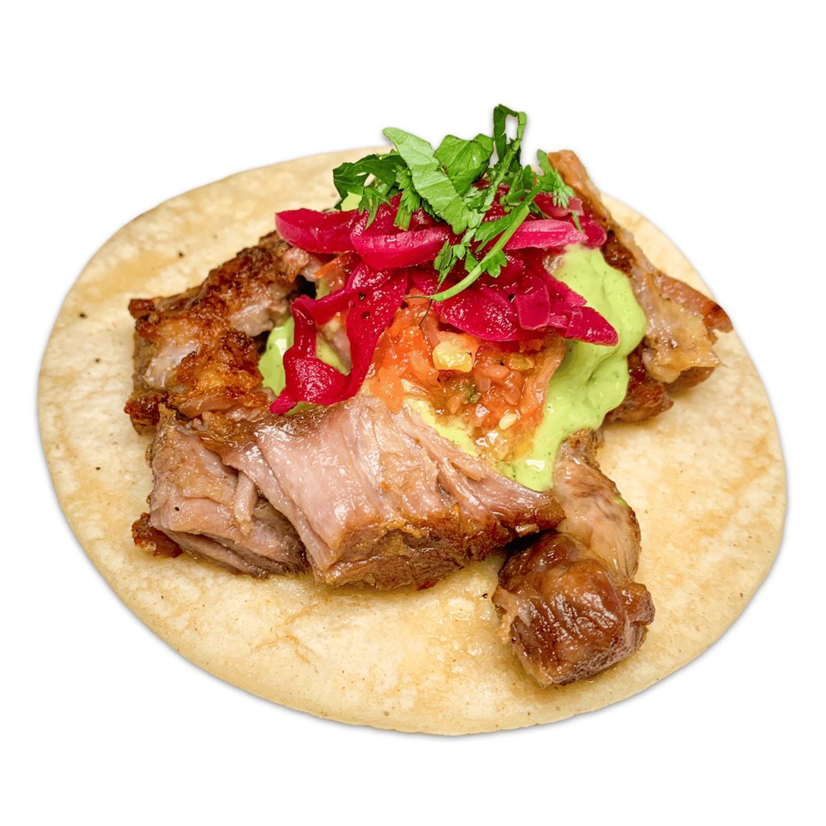 21. Carnitas Taco
