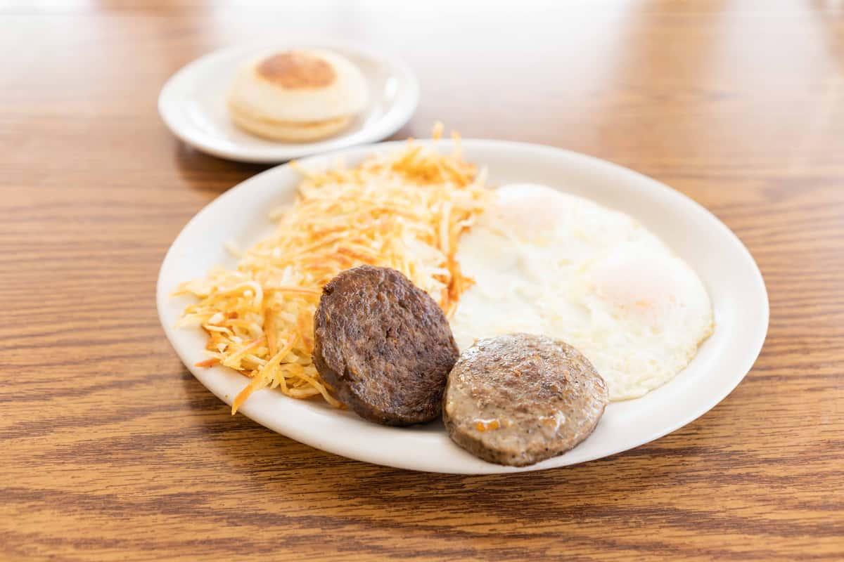 Sausage Patty Breakfast