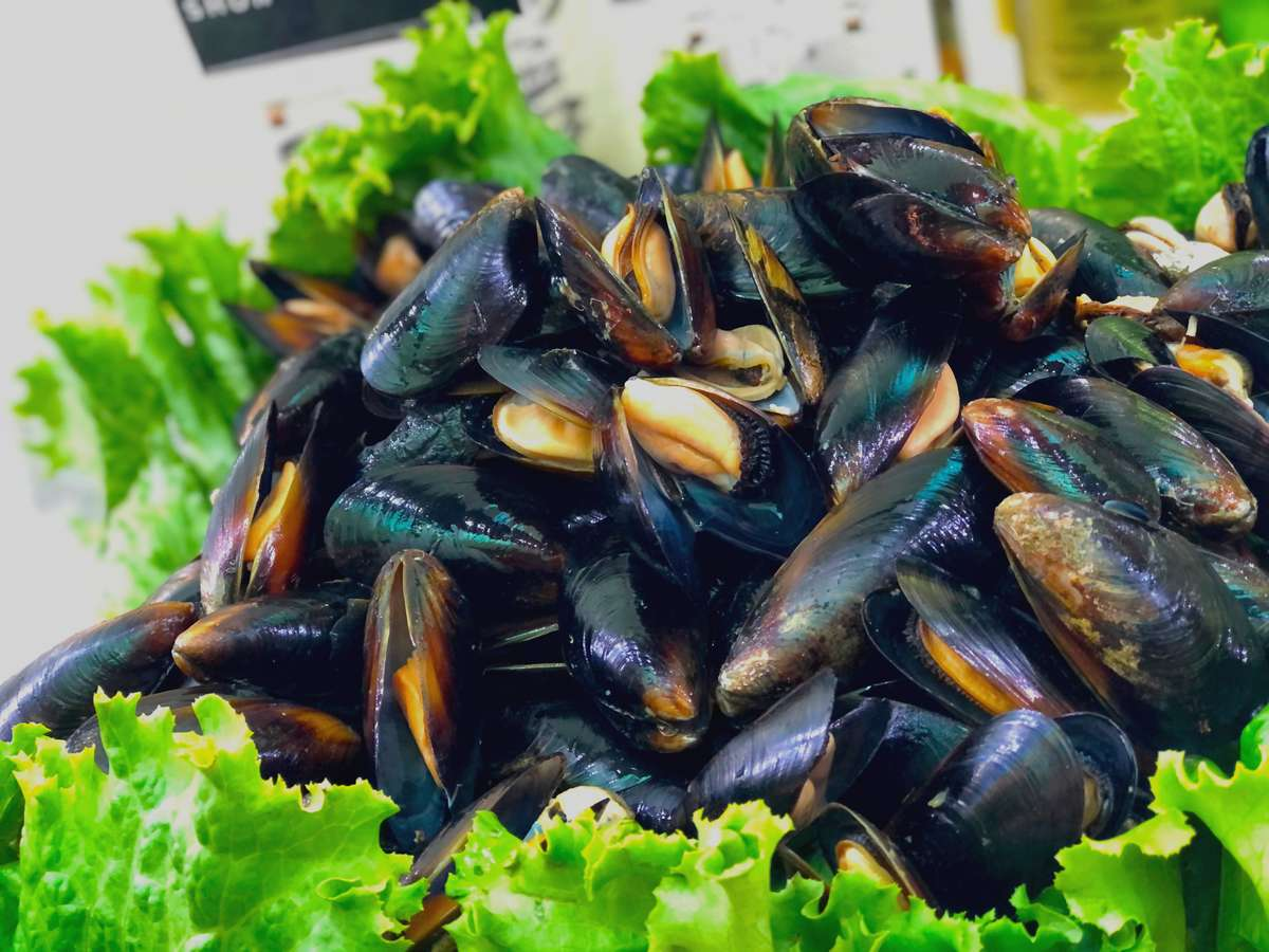 7. Mussels