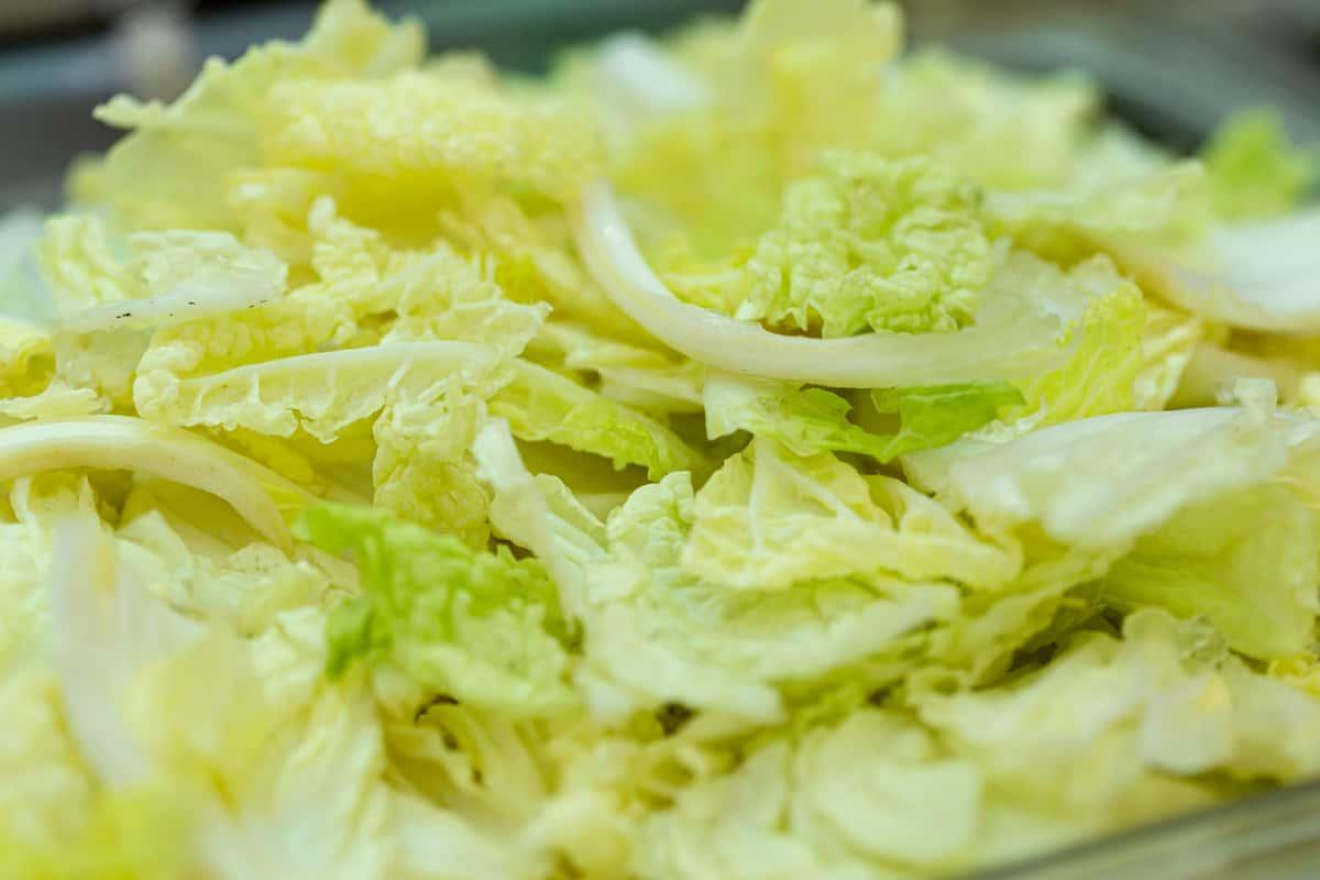 10. Napa Cabbage