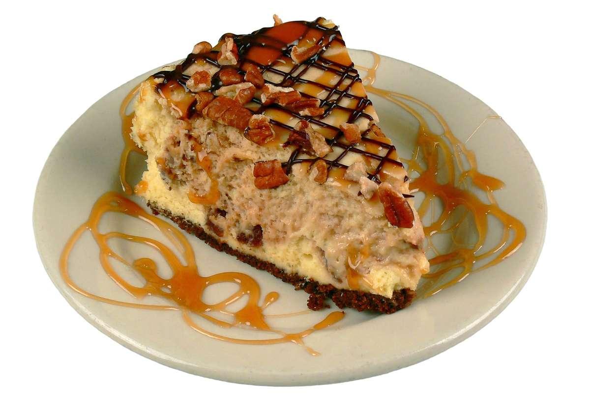 Gourmet Turtle Cheesecake