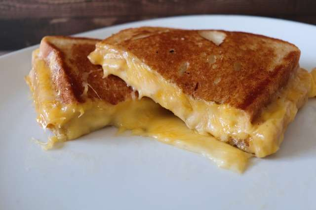 Grilled 3 Cheese Panini