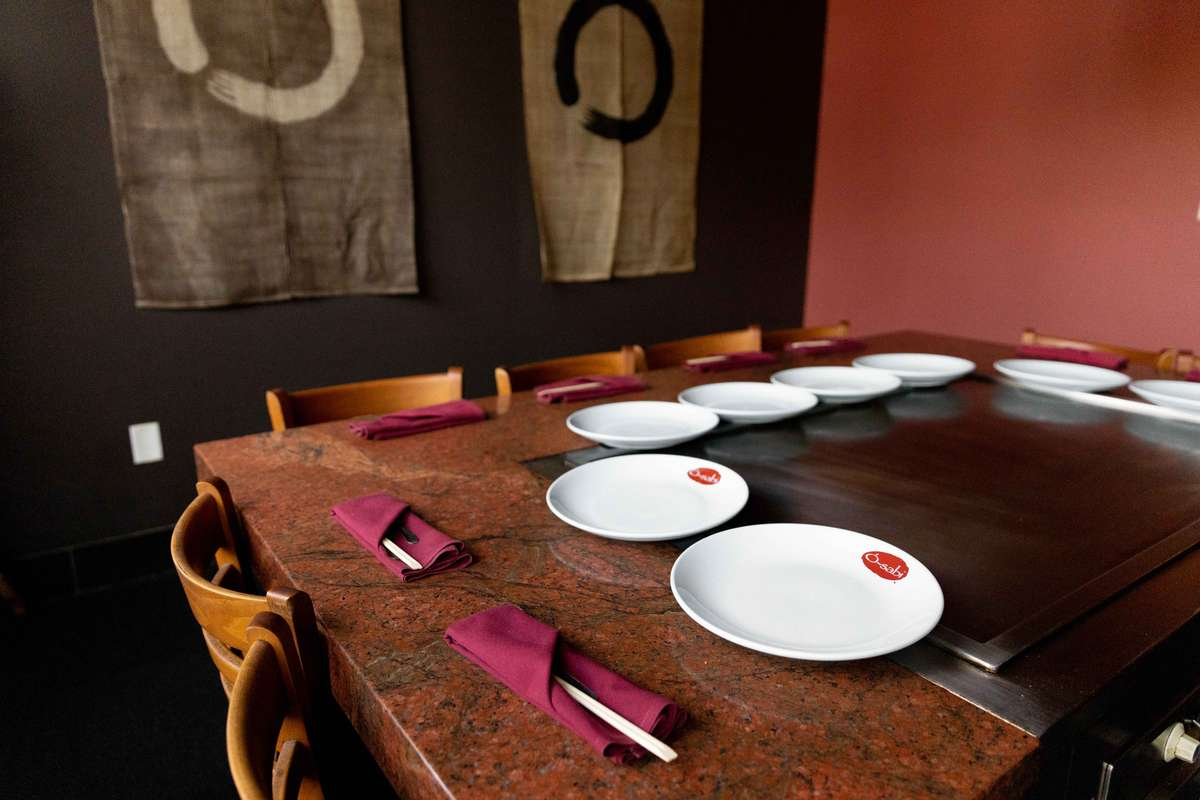 teppan table
