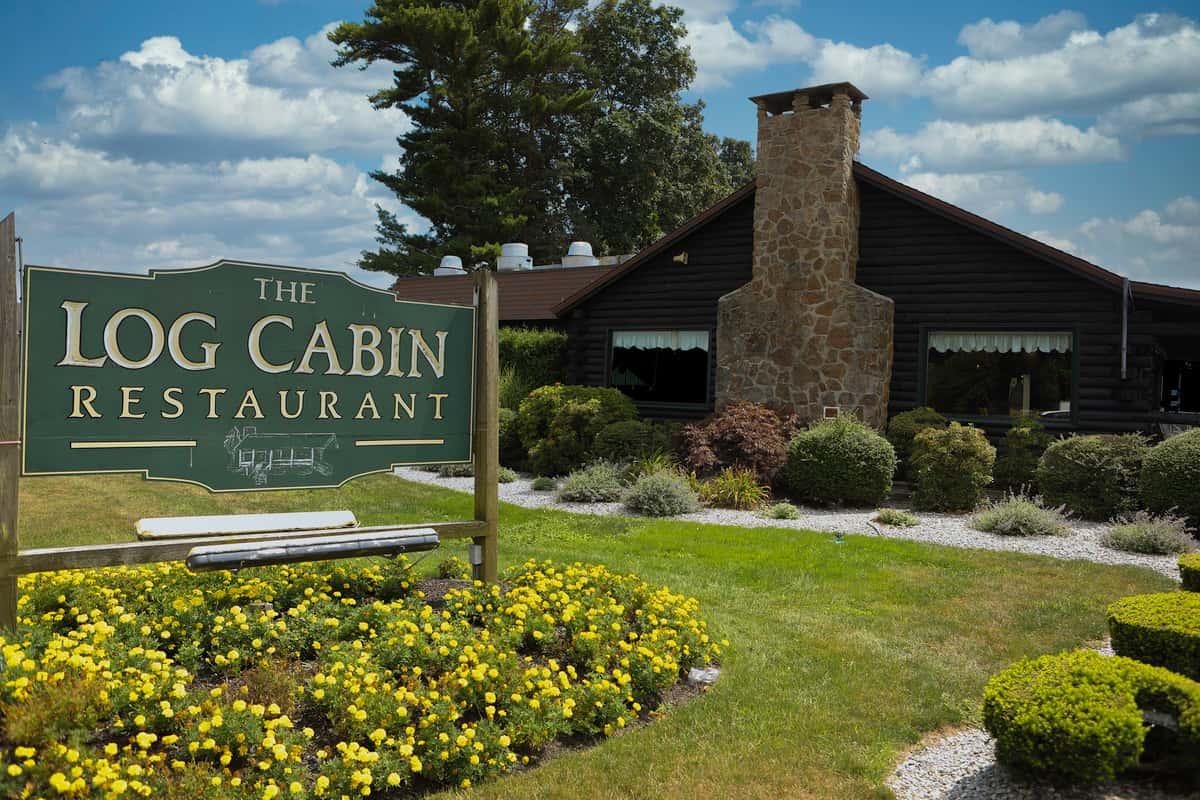Log Cabin restaurant exterior