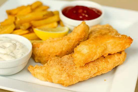 Cod (fried)