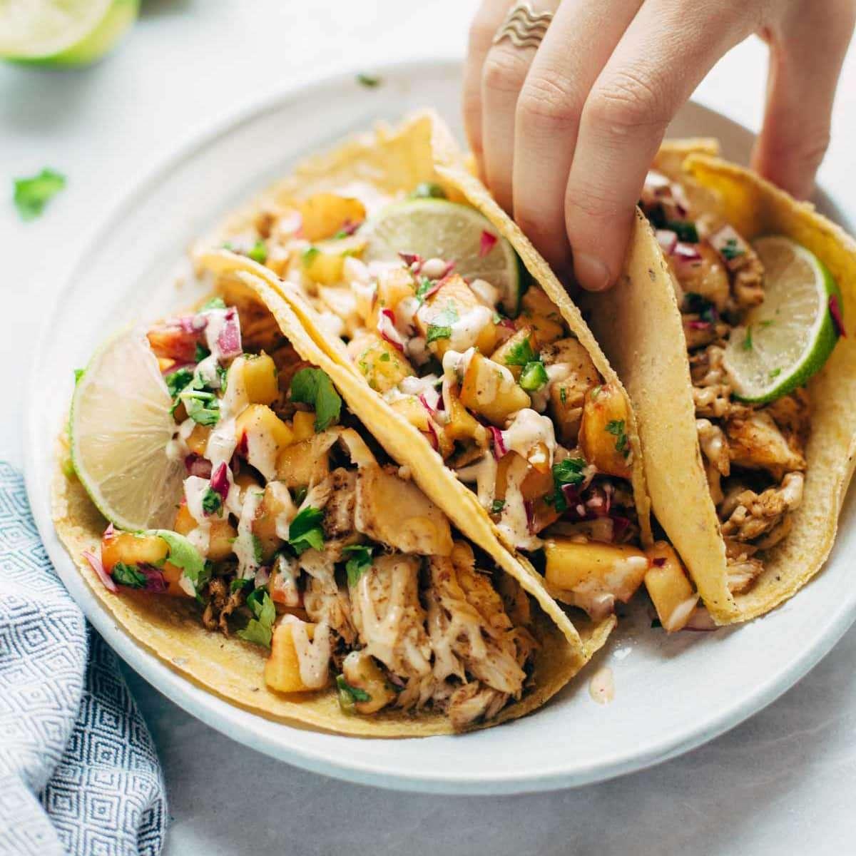 Seafood Tacos