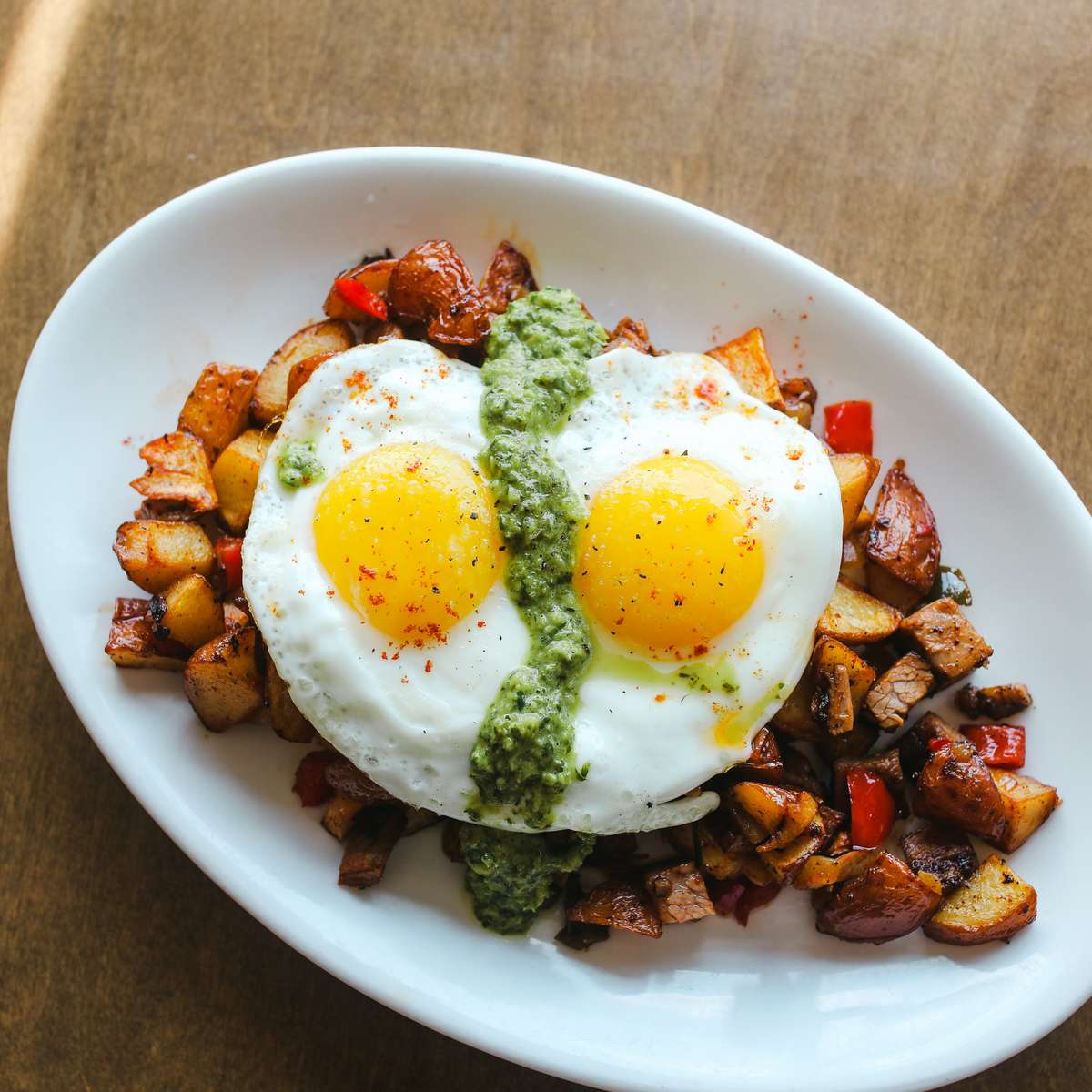 House Cured Brisket Hash
