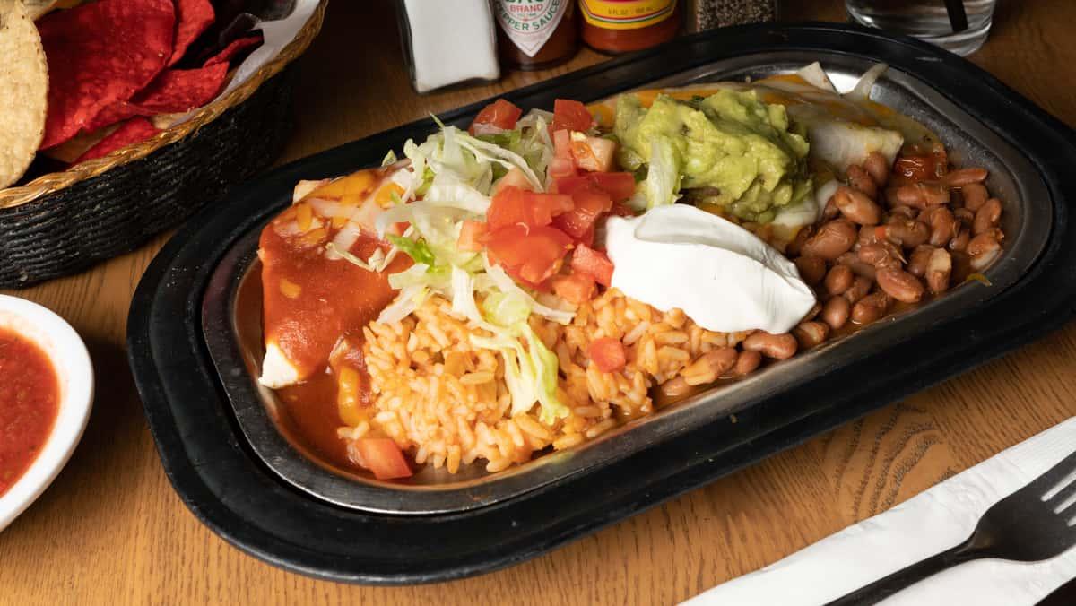 Burrito Grande Plate