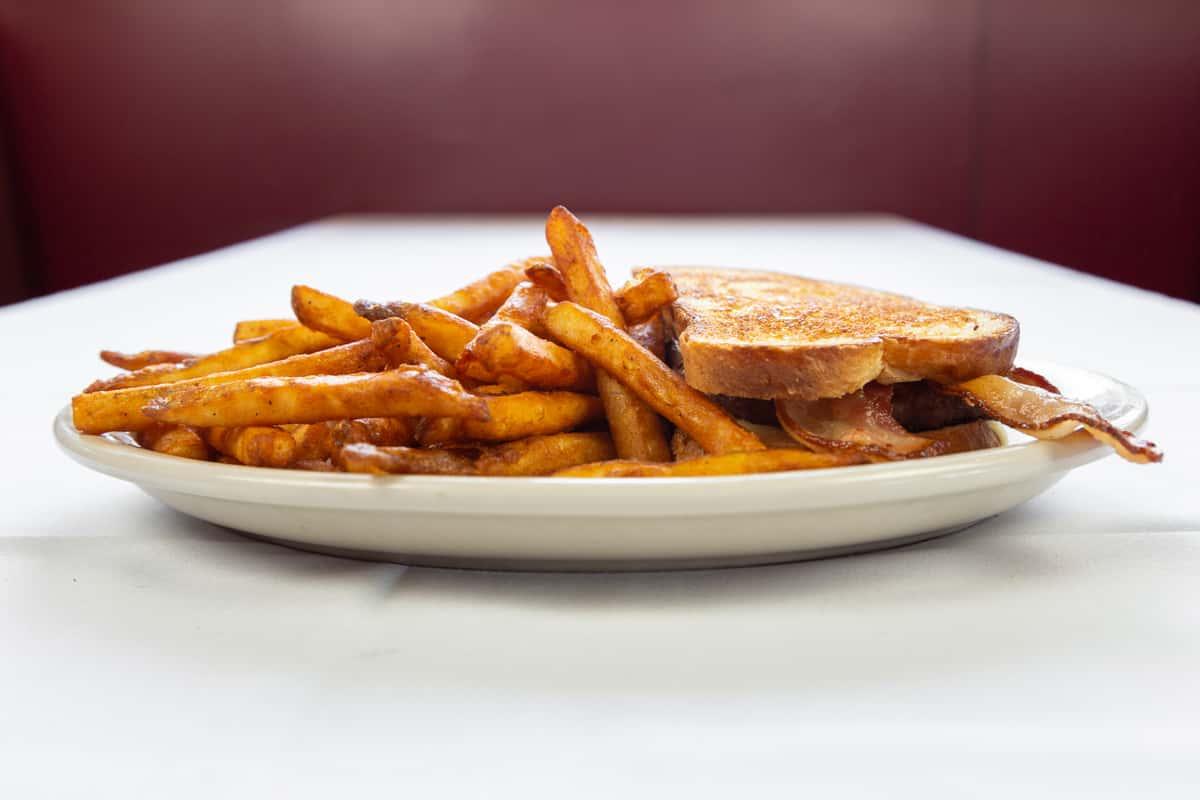 Sourdough Bacon Burger