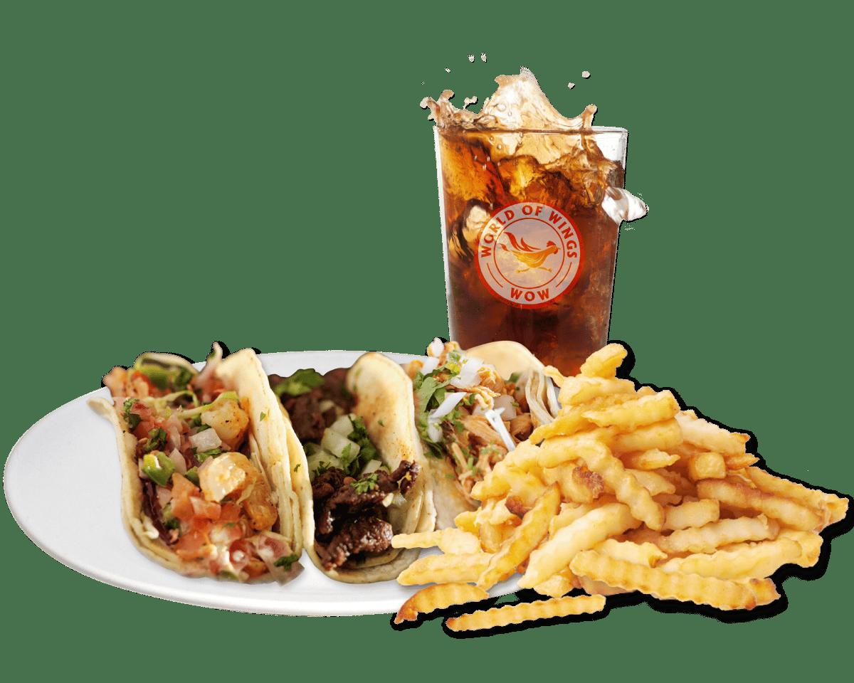 3 Tacos Combo