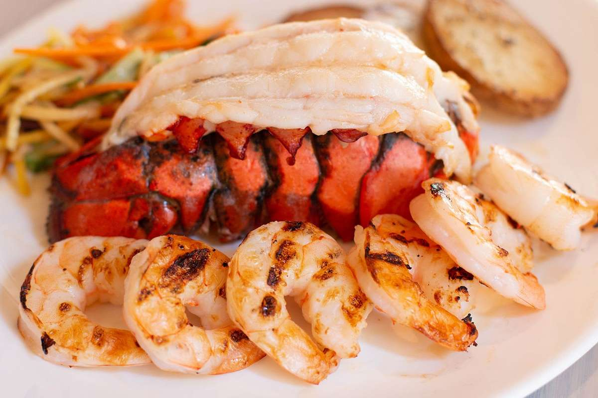 Grilled Shrimp & Lobster Tail