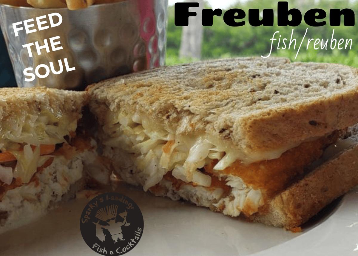 Dolphin Freuben Sandwich