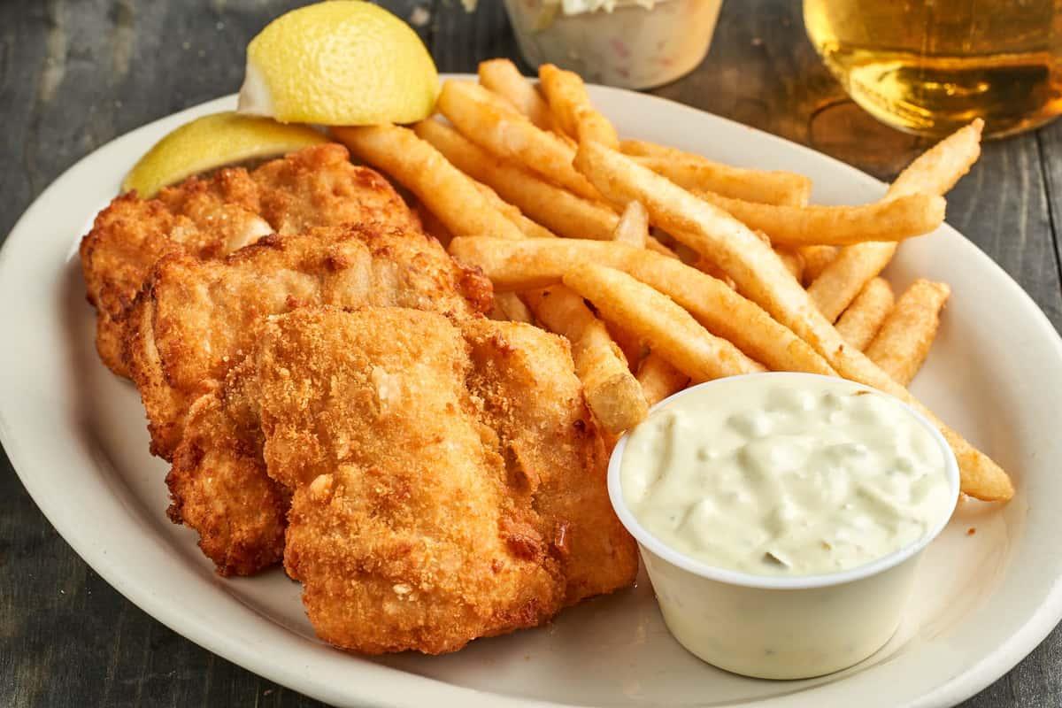 Fried Icelandic Cod