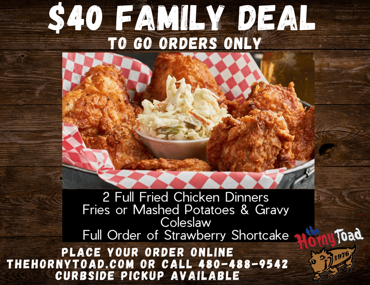 Fried Chicken Family Deal