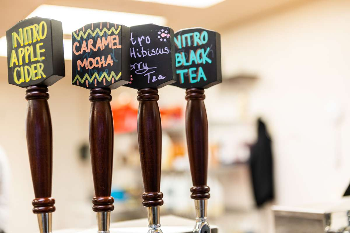 drinks on tap