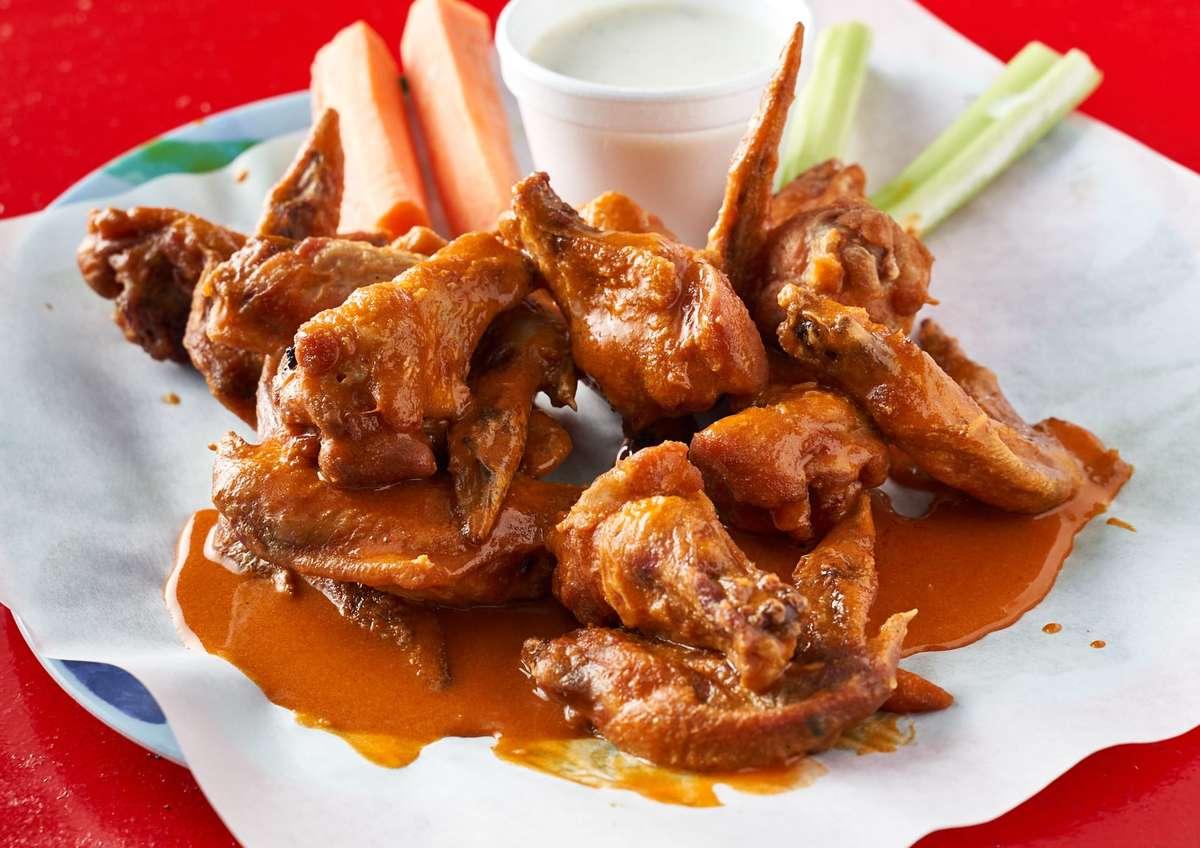 14 hot wings