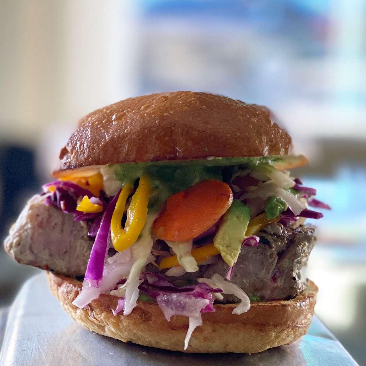 Seared Ahi Sandwich