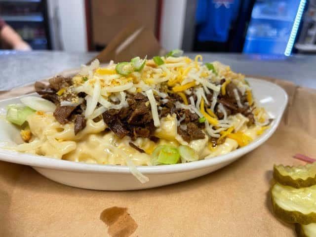 Texas Brisket Mac and Cheese