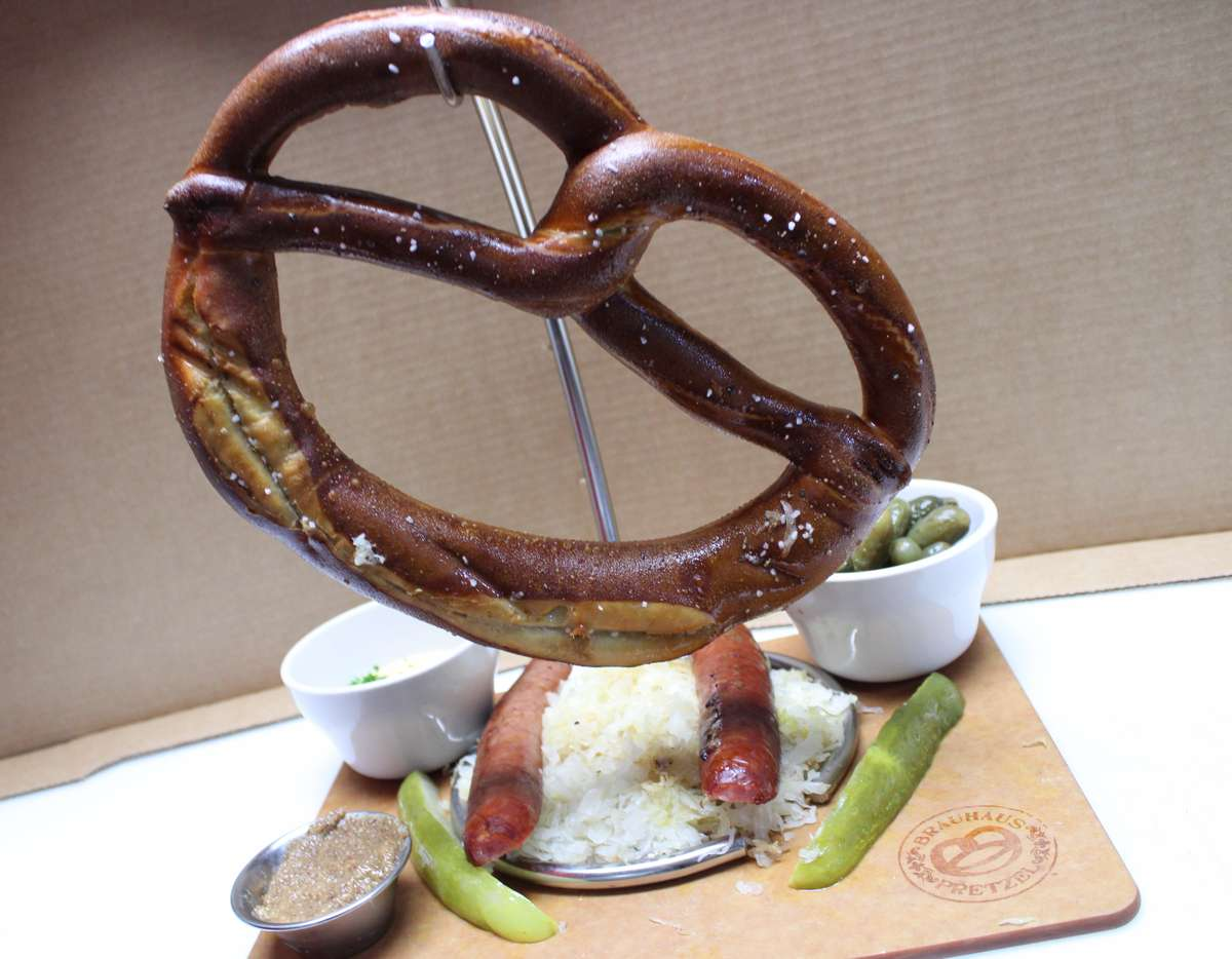 German Pretzel Board