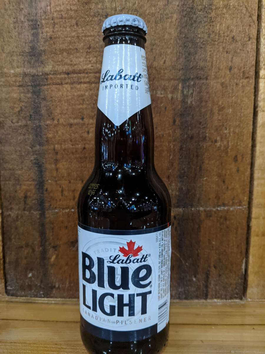 Labatt Blue and Blue Light